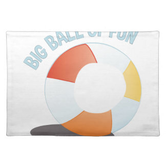 Ball Of Fun Cloth Placemat