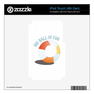 Ball Of Fun Decals For iPod Touch 4G