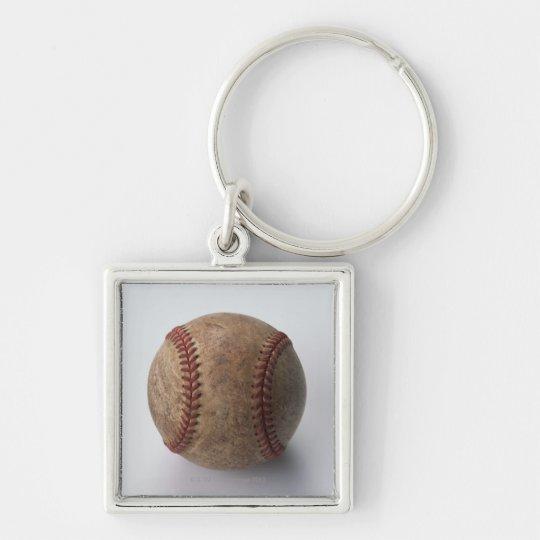 Ball of Hardball Baseball Keychain