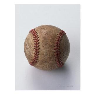 Ball of Hardball Baseball Postcard