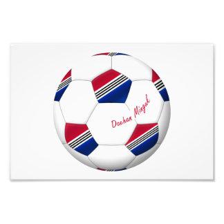 Ball of South Korea SOCCER national team 2014 Art Photo