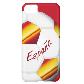 Ball of SPAIN SOCCER color of Spanish flag iPhone 5C Case