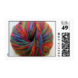 Ball of Yarn Postage Stamp