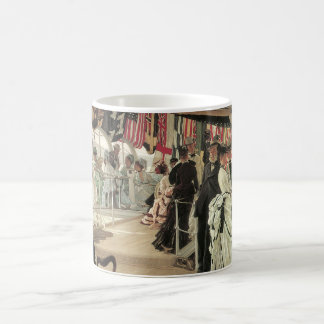 Ball on Shipboard by James Tissot Coffee Mug