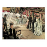 Ball on Shipboard by James Tissot Postcard