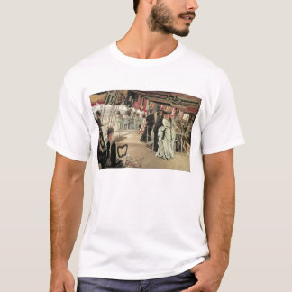 Ball on Shipboard by James Tissot T-Shirt