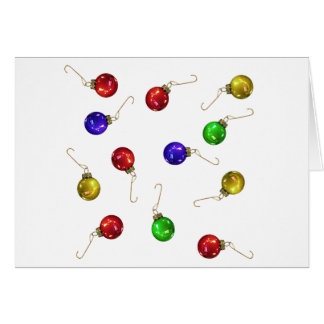 Ball Ornaments Card