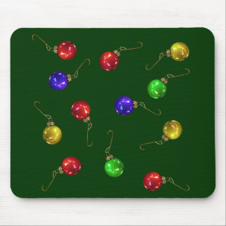 Ball Ornaments Mouse Pad