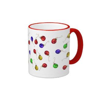 Ball Ornaments Ringer Mug