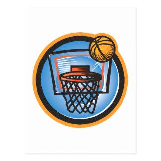 Ball over Basket Postcard