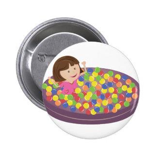 Ball Pit Pinback Button