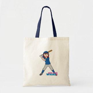 Ball Player - Blue Uniform Tote Bag