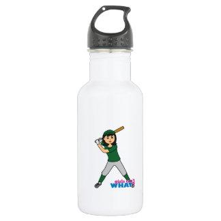 Ball Player - Green Uniform Water Bottle