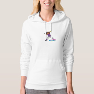 Ball Player - Purple Uniform Hooded Pullover
