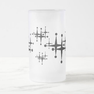 Ball Point Star Frosted Mug