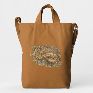 Ball Python Duck Canvas Bag