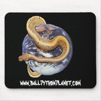 Ball Python Planet Mouse Pad