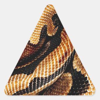 Ball Python Triangle Sticker