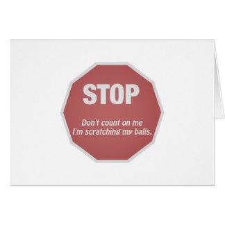 Ball Scratcher Card