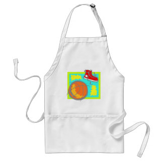 Ball & Shoes Adult Apron