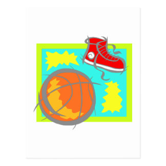 Ball & Shoes Postcard