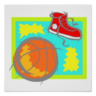 Ball & Shoes Poster