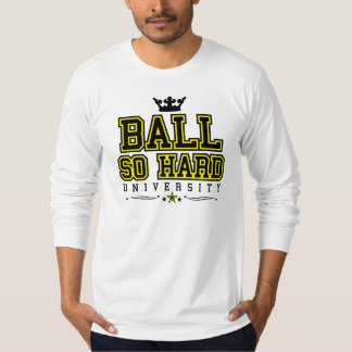 Ball So Hard - Black & Yellow T-Shirt