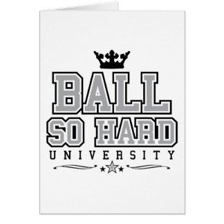 Ball So Hard Card