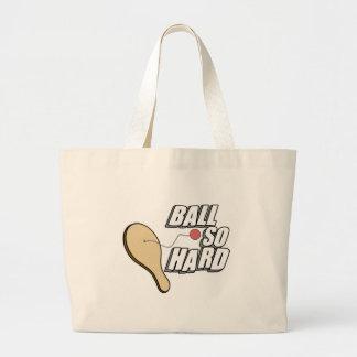 Ball So Hard Large Tote Bag