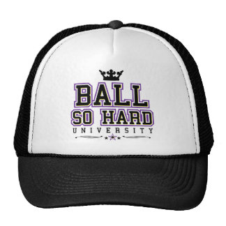 Ball So Hard - Purple & Yellow Trucker Hat
