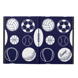 Ball sports all star navy name cover for iPad air