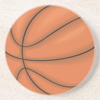 Ball sports: Basketball Beverage Coaster