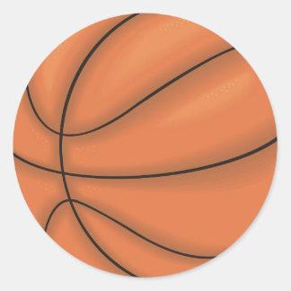 Ball sports: Basketball Stickers