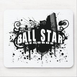 Ball Star Records Logo Mousepad