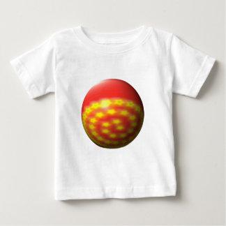 Ball star spiral sphere star spiral baby T-Shirt