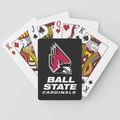 Ball State Cardinals Athletic Mark Bag Tag Zazzlecom
