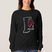 Ball State University State Love Sweatshirt