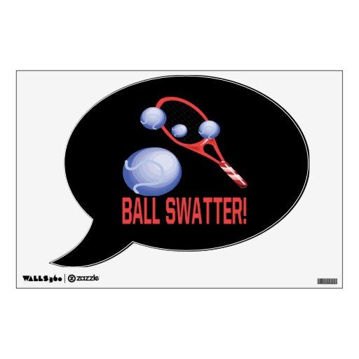Ball Swatter 1.png Wall Decal