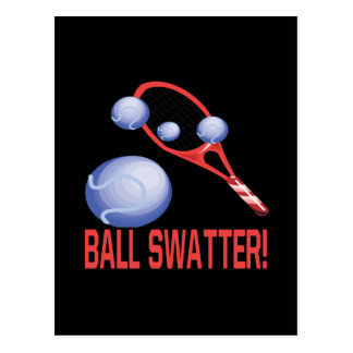 Ball Swatter Postcard