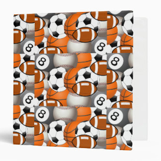 Ball Team Player Exercise Fitness Train Training 3 Ring Binder