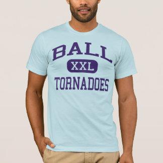 Ball - Tornadoes - High School - Galveston Texas T-Shirt