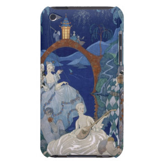 Ball Under the Blue Moon, illustration for 'Fetes iPod Touch Case