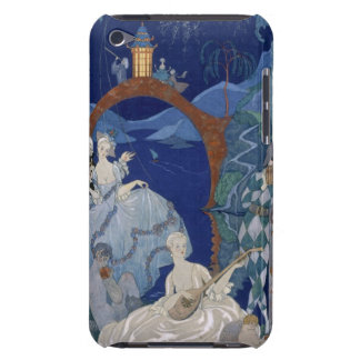 Ball Under the Blue Moon, illustration for 'Fetes iPod Touch Cover
