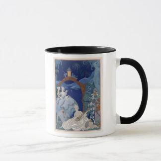 Ball Under the Blue Moon, illustration for 'Fetes Mug