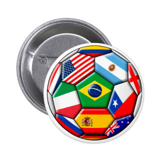 ball with flags button
