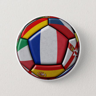 Ball with various flags button