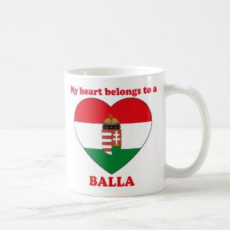 Balla Classic White Coffee Mug