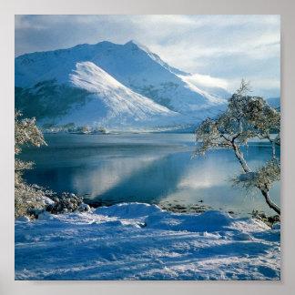 Ballachulish Western Highlands Scotland Poster
