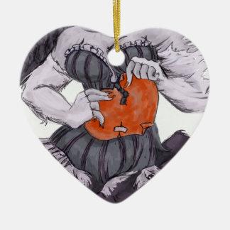 Ballad of My Paper Heart Ceramic Ornament