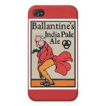 Ballantine's India Pale Ale Vintage Label iPhone 4/4S Cases